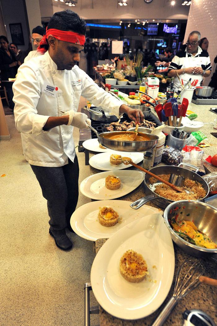 Asian chefs competition