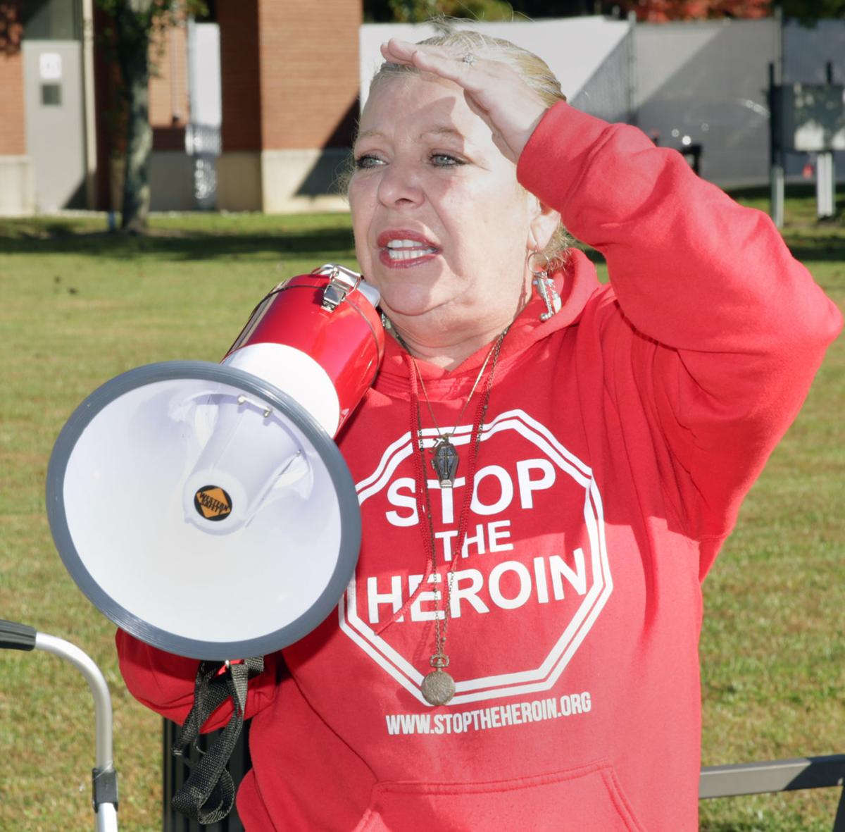 Heroin Protest at Superior Court