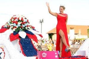 MISS AMERICA PARADE: Miss America Mallory Hagan. - Edward Lea