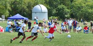 High School Soccer Tournament at Stockton
