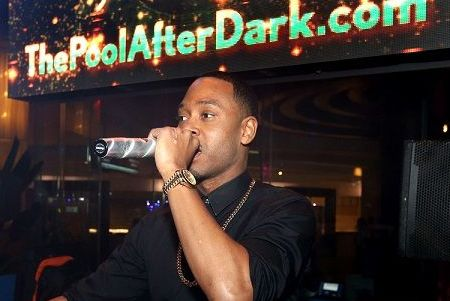 "Terrence J hosted at the ""Pool After Dark"", Harrah's Atlantic City"