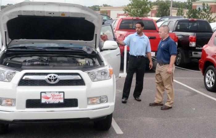 august car sales