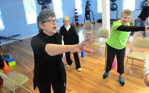 Working out, finding supportExercise program leads to group for Parkinson's sufferers