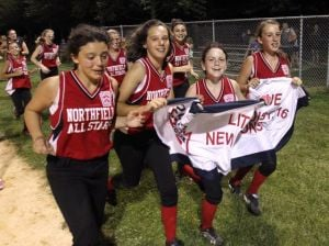 Northfield 11-12 softball wins 1st district title