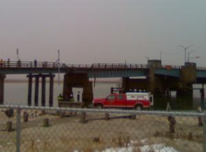Corson's Inlet bridge rescue