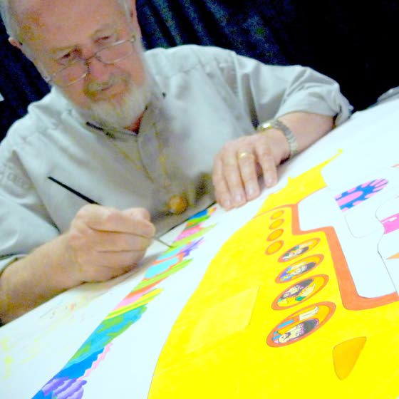 He animated the Beatles, now his work comes to Hamilton Mall