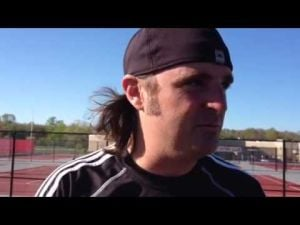 Interview with Middle boys tennis coach Matt Gilbert