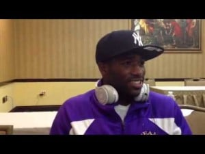 Interview with boxer Adrien Broner