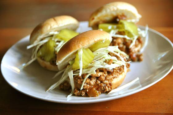 Sloppy Joes with a twist