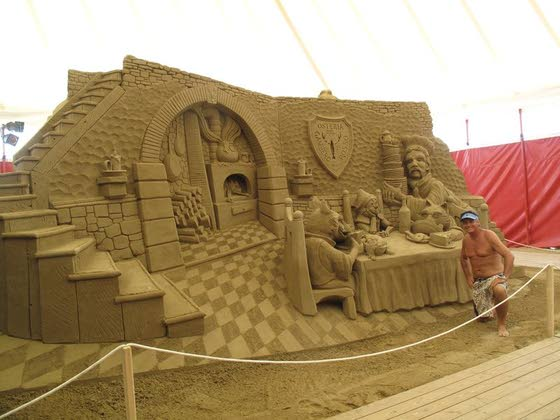 World Championship of Sand Sculpting rises on A.C. beach