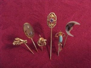 Antiques & Collectibles: Gold and gems enhance stickpin collection