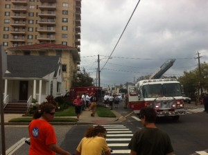 ventnor ambulance into home