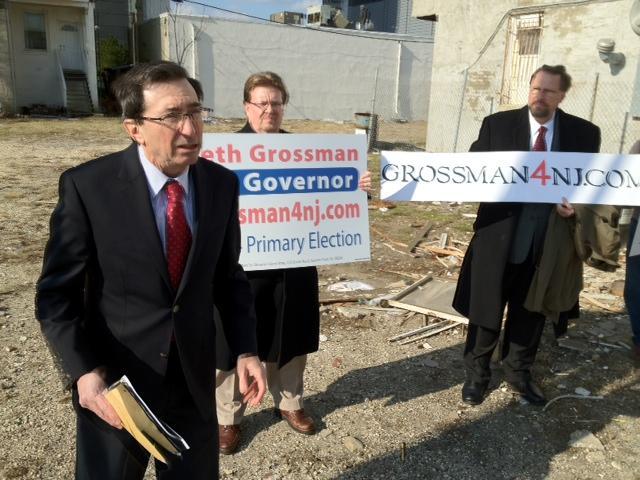 Grossman announces