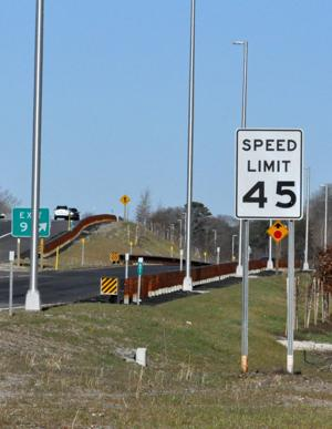 Speed limit on parkway still 45 mph in Middle Township