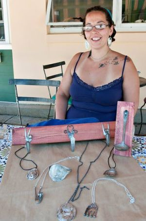 Ocean City artist transforms cutlery from utilitarian to decorative object