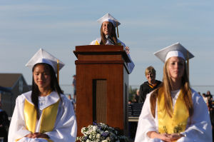 Largest-ever Hammonton graduating class told to persevere