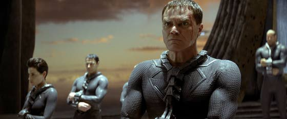 Michael Shannon a long way from home in 'Man of Steel'
