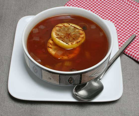 Liven up soups with lemons