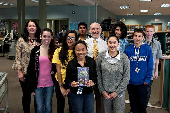 Prolific children's author has something to say to Ventnor students K through 8th