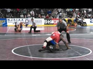 David Williams' quarterfinal match