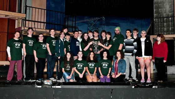Mainland repeats as champion in Drama and Forensics League