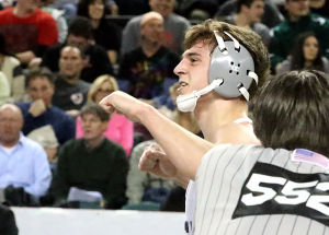 St. Augustine Prep's Jack Clark continues to impress on road to state wrestling title