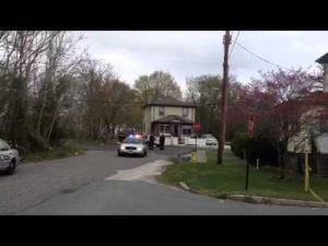Pleasantville shooting scene