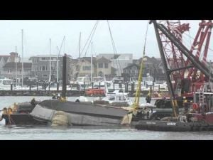 The Raising of Sea Tow's Cape Hatteras