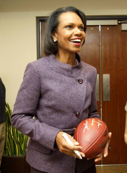 Not much candor or insight  in Condoleezza Rice's memoir