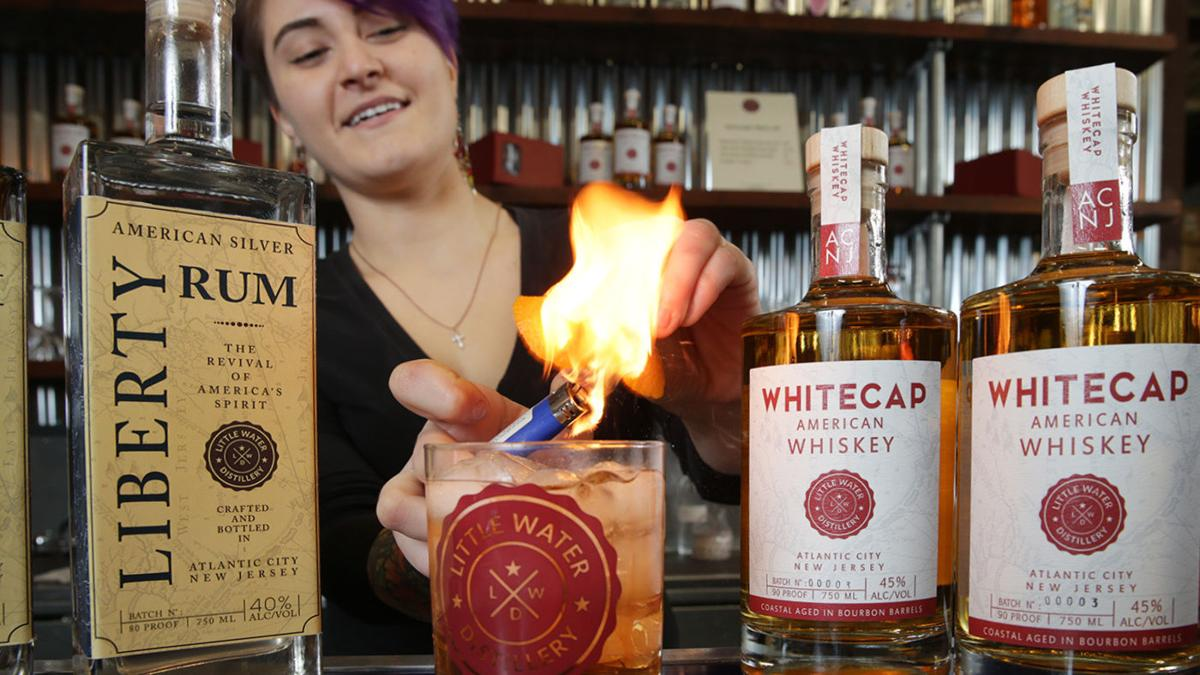 Little Water Distillery brings craft spirits to A.C.