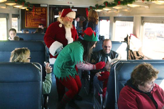 All Aboard For Yuletide Fun: Santa Express just one of the many ways to celebrate the season a week from Christmas