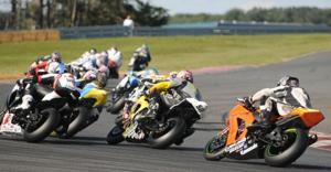 Superbike racing in Millville
