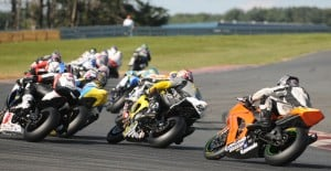 Superbike racing in Millville