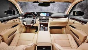 Redesigned 2013 Lexus LS is Sumptuous Machine