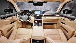 Redesigned 2013 Lexus LS is Sumptuous Machine
