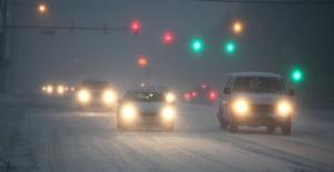 snow / roads 4:15 p.m.