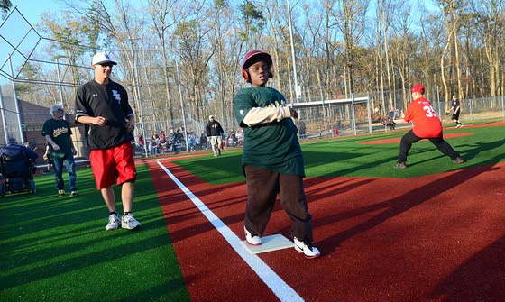 A place to play ballAbsecon's Field of Dreams draws hundreds of kids with disabilities for exercise and fun
