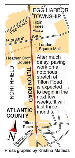 Tilton Road repair