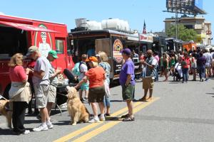 Food trucks take over Brighton Park in Atlantic City