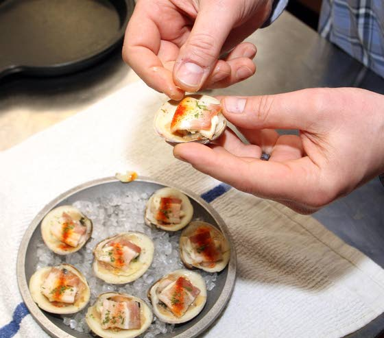 How They Make It: Joe Italiano's in Mays Landing shares its recipe for clams casino