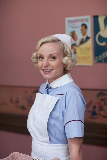British actress Helen George delivers in 'Call the Midwife'