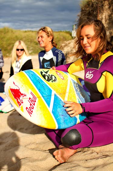 Ventnor teens part of grassroots women's surfing effort