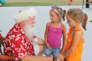 Christmas In July Highlights Events At The Shore Today: Caption