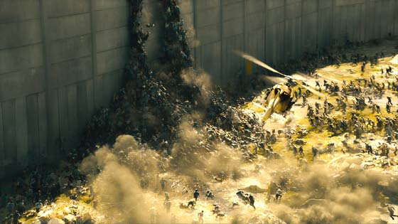 'World War Z' rises above bad buzz to triumph