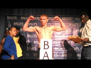 Patrick Majewski vs. Jamaal Davis weigh-in