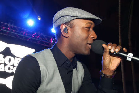 """Aloe Blacc"" performed at The Pool After Dark"