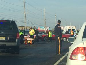 Multiple vehicle accident on Route 30 snarls morning commute