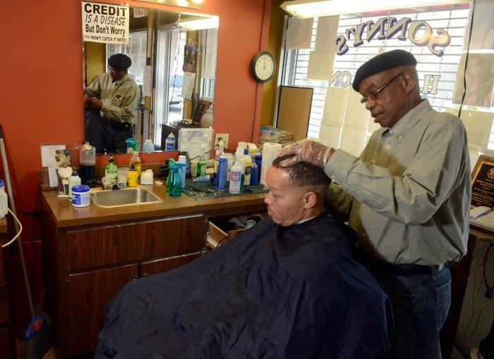 South jersey barbers finding more free time less hair in - Barber vs hair salon ...