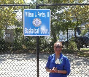A.C. dedicates at Lagoon Playground Park basketball courts to Billy Porter