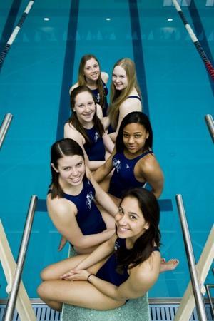 AC girls swim team